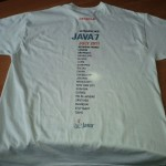 Java7 T-Shirt back
